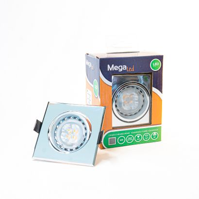 10 xSpot encastrable LED amovible Argenté...