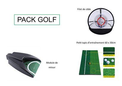 1 xPack Golf  Ce pack Golf vous permet de...