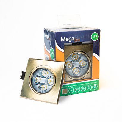 10 xSpot encastrable LED amovible Bronze...