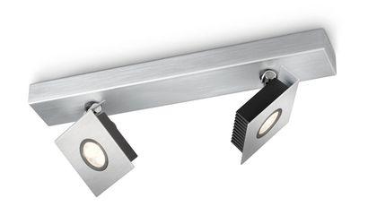 2 xPhilips - 564324816 - Plafonnier LED Ledino...