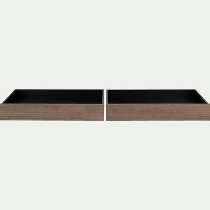 1 x Lot de 2 tiroirs à lit en pin Alinéa...