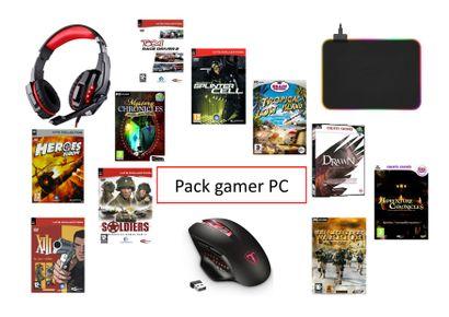 1 xPack Gamer PC  Ce pack Gamer PC est idéal...