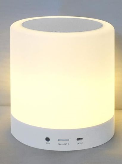 10 xEnceinte Bluetooth Lumineuse Bluetech,...