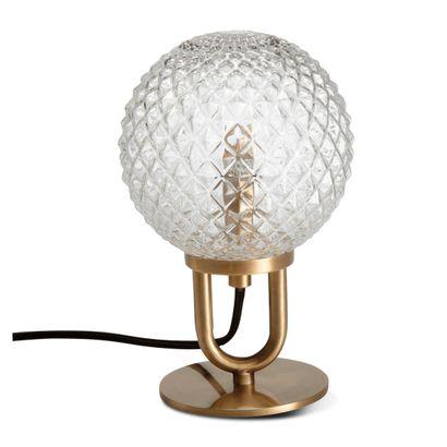 2 x Lampe à poser en verre D15cm H23,5cm  Prix public : 58 €  Pas d'expédition pour...