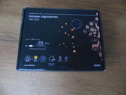 2 x Guirlande 160 lampes clignotantes LED...