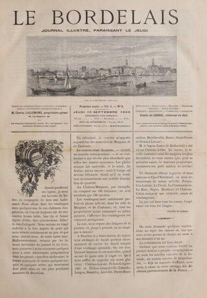 * BORDELAIS (Le). Journal illustré Charles...