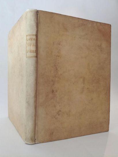 [Livre du XVIe siècle]. [JEROME (saint)]. Vita de sancti padri vulgare hystoriata....