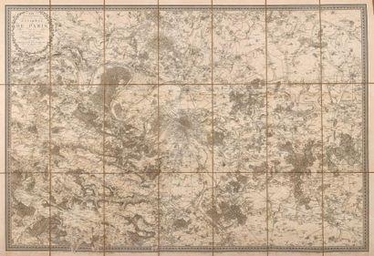 * [Paris]. JACOUBET (Théodore). Atlas général de la ville des faubourgs et des monuments...