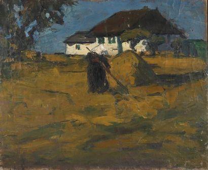 Entourage de  Constant PERMEKE (1886-1952).