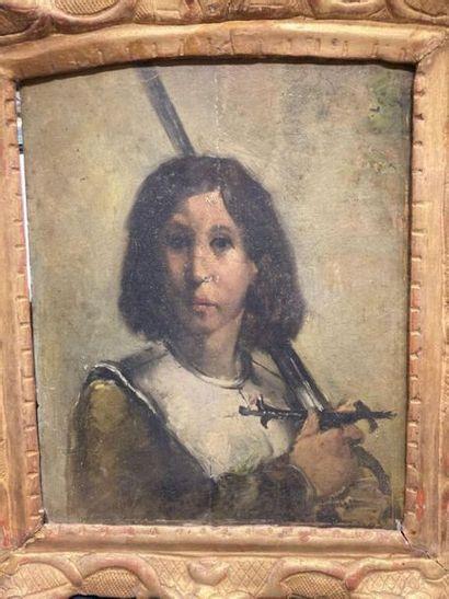 D'après Albert MAIGNAN (1845-1908). Jeanne...