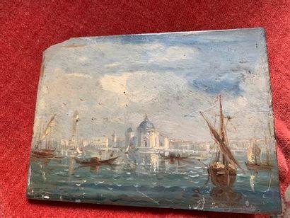 École ITALIENNE du début du XX° siècle. Venise,...
