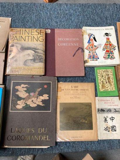 [Documentation. Arts de l'Asie]. [Documentation. Arts de l'Asie]. Lot d'ouvrages...