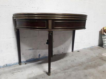 TABLE DEMI-LUNE