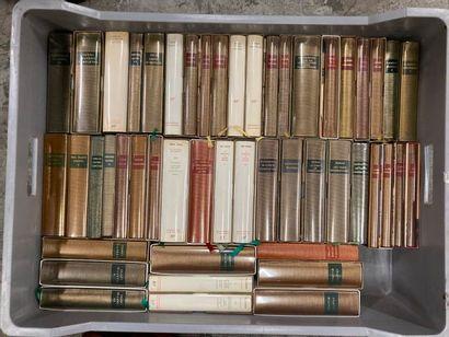 LA PLEIADE. Proust contre Sainte beuve ; Saint-Simon mémoires 1691-1723 T1 à 8,...