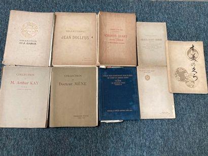 [Documentation. Catalogues de vente aux enchères Arts de l'Asie].