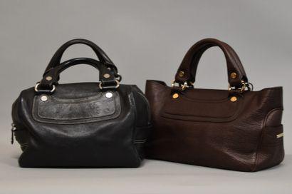 Ensemble de deux sacs à main CELINE :    CELINE...