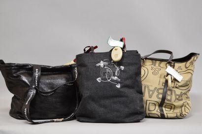 Ensemble de 3 sacs à main comprenant :  ...