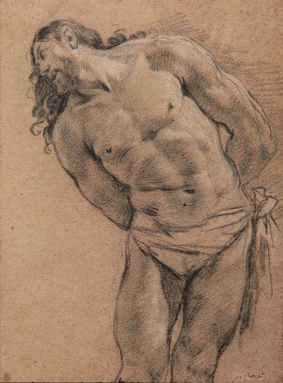 Simon VOUET (Paris 1590 1649).  Le Christ...