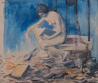 Jean-Louis FORAIN (Reims 1852 Paris 1931)....