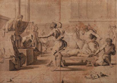 Atelier d'Eustache LE SUEUR (Paris 1616 1655)....