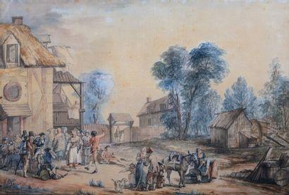 Attribué à Jean-Baptiste LE PAON (Paris 1738...