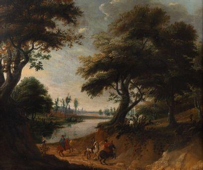 Attribué à Lucas ACHTSCHELLINCK (1626-1699)....