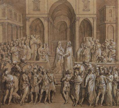 Attribué à Giovanni Battista Dell ERA (Treviso...