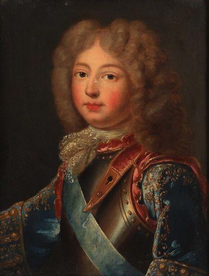 École FRANÇAISE vers 1700.  Portrait dit...