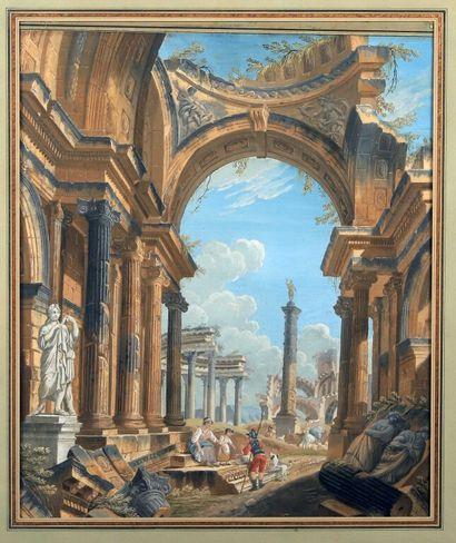 Pierre Antoine DEMACHY (Paris 1723 1807)....