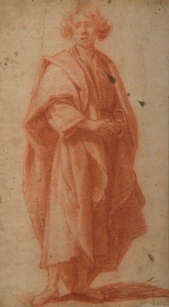 École FLORENTINE vers 1600.  Figure drapée...