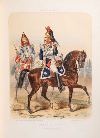 * [MILITARIA] LALAISSE L'Armée et la Garde...