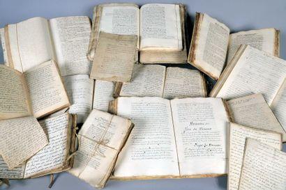 *Archives et Manuscrits provenant de la bibliothèque...