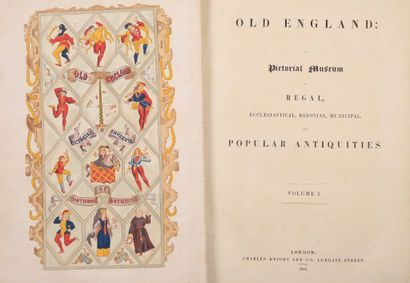 *OLD ENGLAND : A Pictorial museum of Regal,...