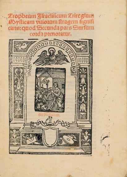[ANTONIO DE MONEGLIA (OFM)]. Tropheum Israeliticum...