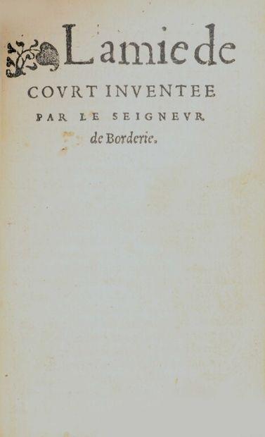 [Reliure aux armes]. [Livre du XVIe siècle]....