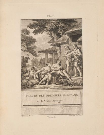 ** DAVID (François-Anne). Histoire d'Angleterre...