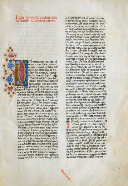 [Incunable]. [Bible, A.T., latin, 1476]....