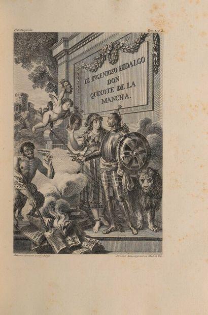 CERVANTÈS (Miguel de). El ingenioso hidalgo...