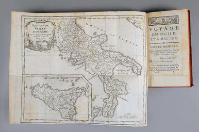 BRYDONE (Patrick). Voyage en Sicile et à...