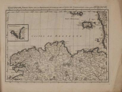[Atlas]. CASSINI DE THURY (César-François),...
