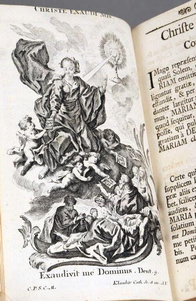 DORN (Franz Xaver). Litaniae lauretanae ad...