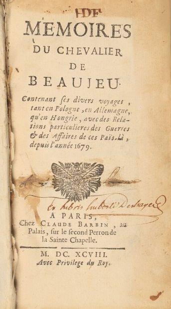 [DALAIRAC (François-Paulin)]. Mémoires du...