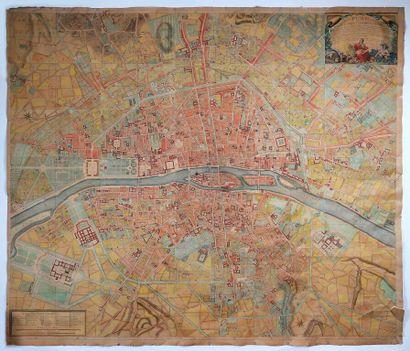 [Carte géographique]. [Paris]. DEHARME. Plan...