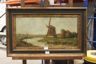 Johan Henrik WEISSENBRUCH (1824-1903)  Paysage...