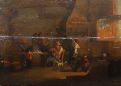 Ecole FLAMANDE du XVIIème siècle,