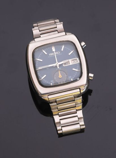 SEIKO MONACO 7016-5001 Chronographe automatique,...