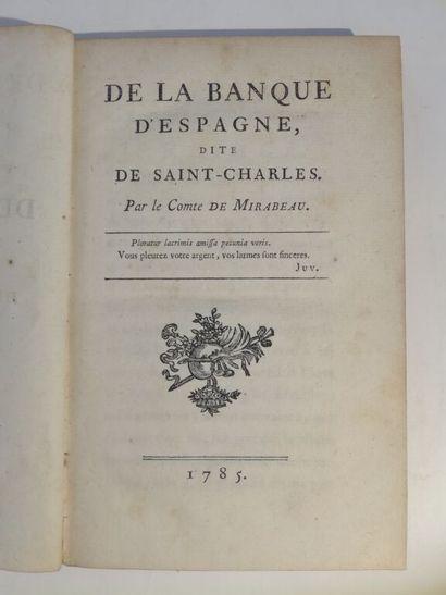 MIRABEAU (Honoré-Gabriel Riquetti de). De...