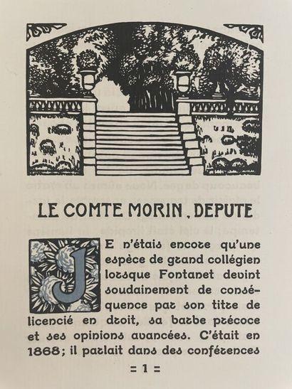 BARTHÉLEMY. FRANCE (Anatole). Le comte Morin,...