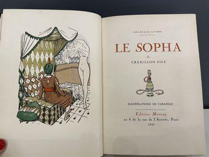 CARLÈGLE. CRÉBILLON fils. Le sopha. Paris,...
