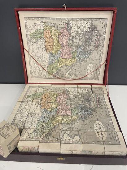 Études géographiques [puzzle]. Jeu composé...